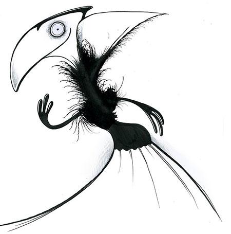 An elegant monster by Stefan Bucher