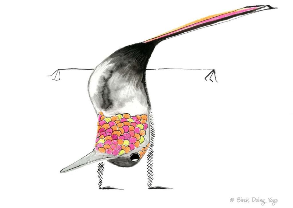 Hummingbird Handstand